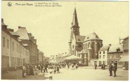 Ham-sur-Heure. Grand'Place Et Eglise. Défilé De La Marche De Saint-Roch. Kiosque. - Ham-sur-Heure-Nalinnes