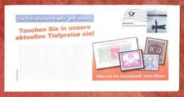 Infopost, Schnaeppchen-Angeln, Angler, Frankierwelle (43217) - BRD
