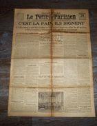 Vieux Papiers, Quotidien, Journal Le Petit Parisien Mardi 24 Juin 1919 - Newspapers