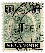(I.B) Malaya States Revenue : Selangor Judicial 50c - Great Britain (former Colonies & Protectorates)