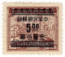 (I.B) China Revenue : Customs Duty $5 On $500 OP - China