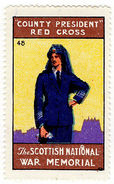 (I.B) Cinderella Collection : The Scottish War Memorial (Red Cross President) - 1902-1951 (Kings)