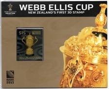 NEW ZEALAND 2011 Webb Ellis Cup: Presentation Pack - Rugby