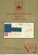 Preußen Sammlung Dr. Penning Sonderkatalog Derichs 2008 - Auktionskataloge