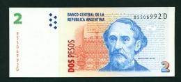 ARGENTINA  -  2002  2 Pesos  UNC Banknote - Argentine
