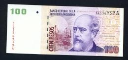 ARGENTINA  -  2000  100 Pesos  UNC Banknote - Argentine