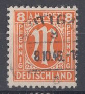 AM-Post Minr.5 Plf.II Gestempelt - Bizone