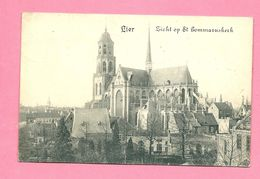 C.P.   Lier  =  Zicht  Op  St.  Gummaruskerk - Lier