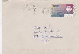 Brief In Die Schweiz (br1702) - 1931-Heute: 2. Rep. - ... Juan Carlos I