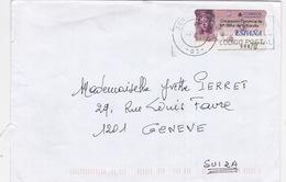 Brief In Die Schweiz (br1703) - 1991-00 Briefe U. Dokumente