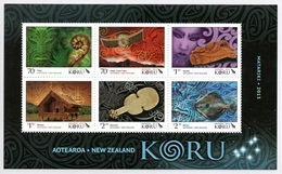 NEW ZEALAND 2013 Matariki/Koru: Miniature Sheet UM/MNH - Blocks & Sheetlets