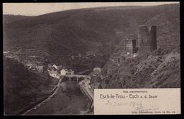 ESCH LE TROU - Vue Panoramique - Ed. Nels Série 16 No. 13 - Super état ! Esch Sur Sure - Esch-Sauer