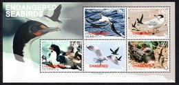 NEW ZEALAND 2014 Endangered Seabirds: Miniature Sheet UM/MNH - Blocchi & Foglietti
