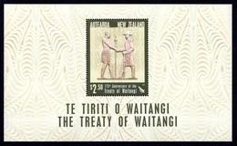 NEW ZEALAND 2015 175th Anniversary Of Treaty Of Waitangi: Miniature Sheet UM/MNH - Blocchi & Foglietti