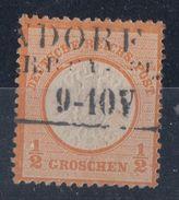 DR Minr.18 Plf.Ib Gestempelt - Deutschland