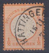 DR Minr.18 Plf.XII Gestempelt - Deutschland