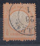 DR Minr.18 Plf.FZL Gestempelt Halle/S. 28.1. - Deutschland