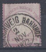 DR Minr.1 Gestempelt Braunschweig 2.11.72 - Deutschland