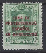 Marruecos 083 (*) Alfonso XII. 1923. Sin Goma - Marruecos Español