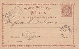 DR GS R3 Alte-Neustadt-Magdeburg 19.1.74 - Briefe U. Dokumente