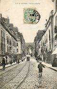 CPA - RENNES 35) - Aspect De La Rue De Berlin Au Début Du Siècle - Rennes