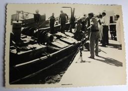 Photographie Originale Agadir Port De Pêche Années 50 Maroc - Africa