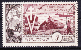 Wallis Et Futuna 1954 Airmail Liberty Anniversary ( Yv PA 14 ) Used Very Fine - Luftpost