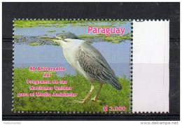 PARAGUAY,2012,BIRD, 1v.. MNH** - Oiseaux