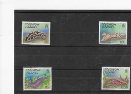 Salomon Solomon 1989 Sea Slugs Limaces De Mer MNH NSc(2) - Marine Life