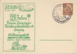 DR Privat-GS Minr.PP122 C22/03 SST Leipzig - Briefe U. Dokumente