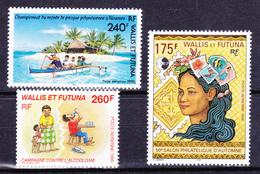 Wallis Et Futuna 1996 Airmail Small Lot ( Yv PA 191 195 196 ) MNH** Luxe - Luftpost