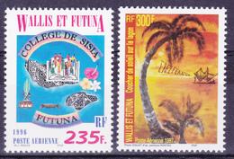 Wallis Et Futuna 1996 Airmail Small Lot ( Yv PA 192 199 ) MNH** Luxe - Luftpost