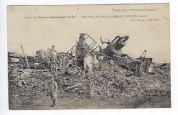 CPA La France Reconquise 1917 Sucrerie De Grand-Seraucourt N° 1809 Français Souvenons-nous ! - War 1914-18