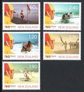 NEW ZEALAND 2010 Centenary Of Surf Life Saving: Set Of 5 Stamps UM/MNH - Nuovi