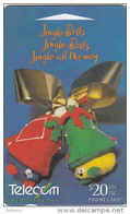 NEW ZEALAND(GPT) - Christmas 1998, CN : 495D, Tirage 55650, Used - New Zealand