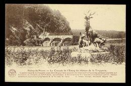 Habay-la-Neuve La Cascade De L'Etang Du Château De La Trapperie - Habay