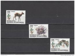 Guinea Ecuatorial Nº 411 Al 413 - Guinea Ecuatorial