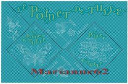 France 2017 Bloc LE POINCT DE TULLE - Papillon Rose - Lace Butterfly Rose - Mint/Hinged