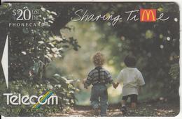 "NEW ZEALAND(GPT) - McDonald""s/Sharing Time, CN : 261D, Tirage 35000, Used - New Zealand"