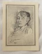Faire Part Deces Suzanne NIVARD 1876 - 1956 - Obituary Notices