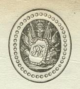 Héraldique Quartier Général De Strasbourg 1.7.1803 - 5e Division Militaire - Documentos Históricos
