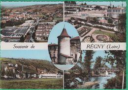 42 - Souvenir De Régny - Multi-vues - Editeur: Combier N°1C - France