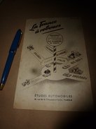 1957 La FRANCE à REBOURS Dans L'entretien Des ROUTES - Transports