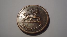 MONNAIE ETHIOPIE 10 CENTS 1936 - Ethiopia
