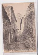 04 Gréoux-les-Bains * Poterne De L'ancien Chateau *  Belle CPA Animée - Gréoux-les-Bains