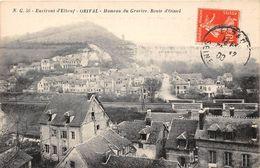 76. ENVIRONS D'ELBEUF, ORIVAL. HAMEAU DU GRAVIER. ROUTE D'OISSEL.  BEAU PLAN. 1908 - France