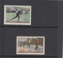 RUSSIA 1952,Winter Sports - SKIIING And SKATING;MNH - 1923-1991 USSR
