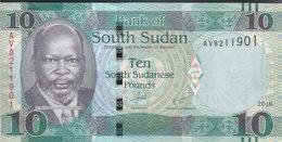 SOUTH SUDAN 10 POUND 2016 P-NEW DATE  UNC */* - Soudan Du Sud