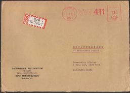 Germany Furth 1969 / Car Industry / VW 411 / Machine Stamp - Fabbriche E Imprese
