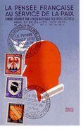 COLIN  PAUL - La Pensée Française Au Service De La Paix Congrés 1946 - CPSM 9x14 TBE Neuve Affranchissement Philatelique - Ilustradores & Fotógrafos